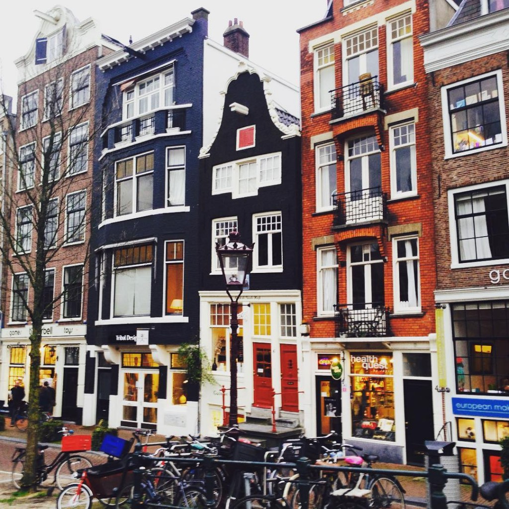 Dutch people know how to take care of their buildings. #Amsterdam #travel #explore #nomad #beauty #admiration #inspiration